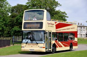 Bridlington open top bus